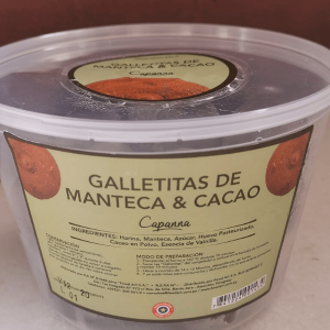 Galletitas de manteca y cacao