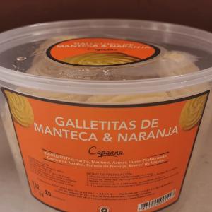 Galletitas de manteca y naranja