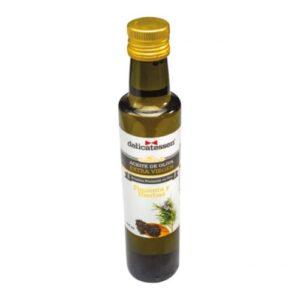 aceite pimienta y hierbas