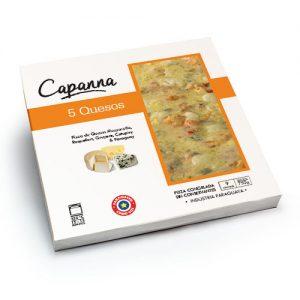 capana pizza 5 Quesos