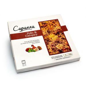 capana pizza Pollo Catupiry