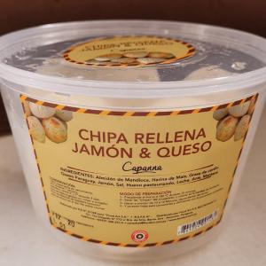 chipa rellena jamon y queso