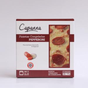 pizzetas congeladas Pepperoni