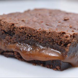 Brownie Caramel Vegano