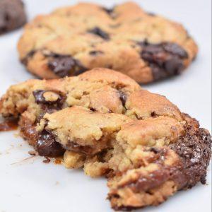 cookie caramel georges patissier