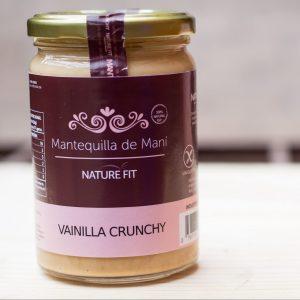 Mantequilla de Maní Vainilla Crunchy