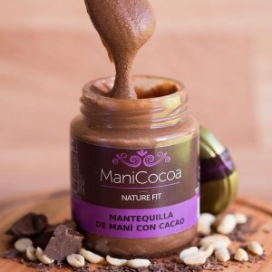Mantequilla de Mani con cacao, nature fit