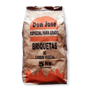 briquetas de carbon vegetal don josé