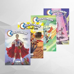pack 4 comics coquitoman