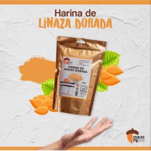 Harina de Linaza dorada SnacksPy